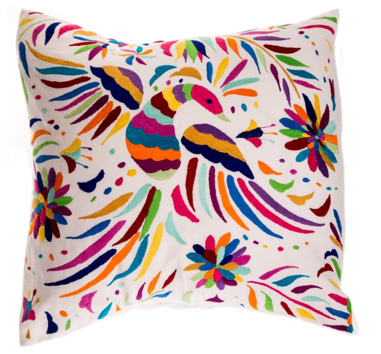 Otomi Rainbow Cushion